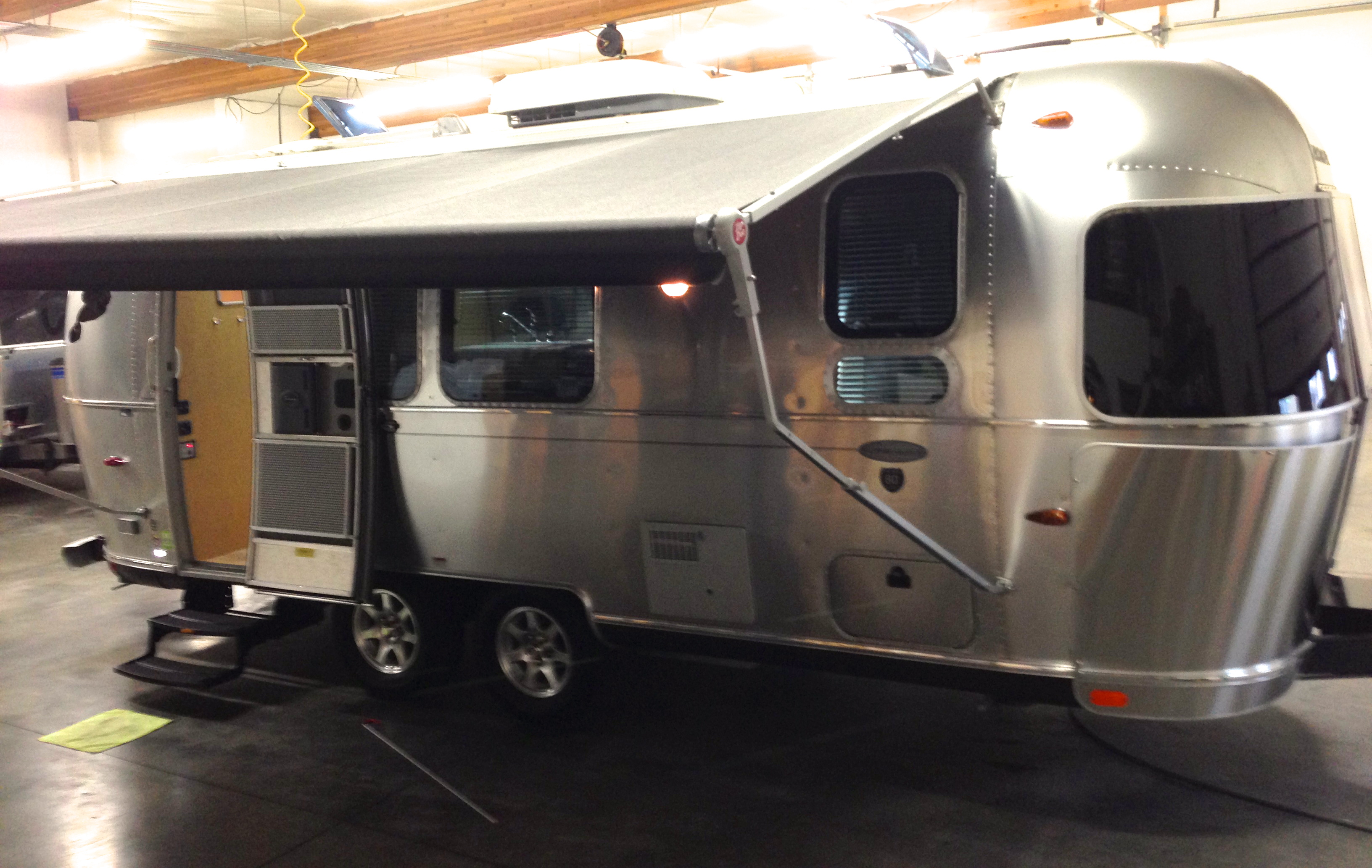 Rv Stove Oven >> Photos of Our New Airstream | Travelin' Light