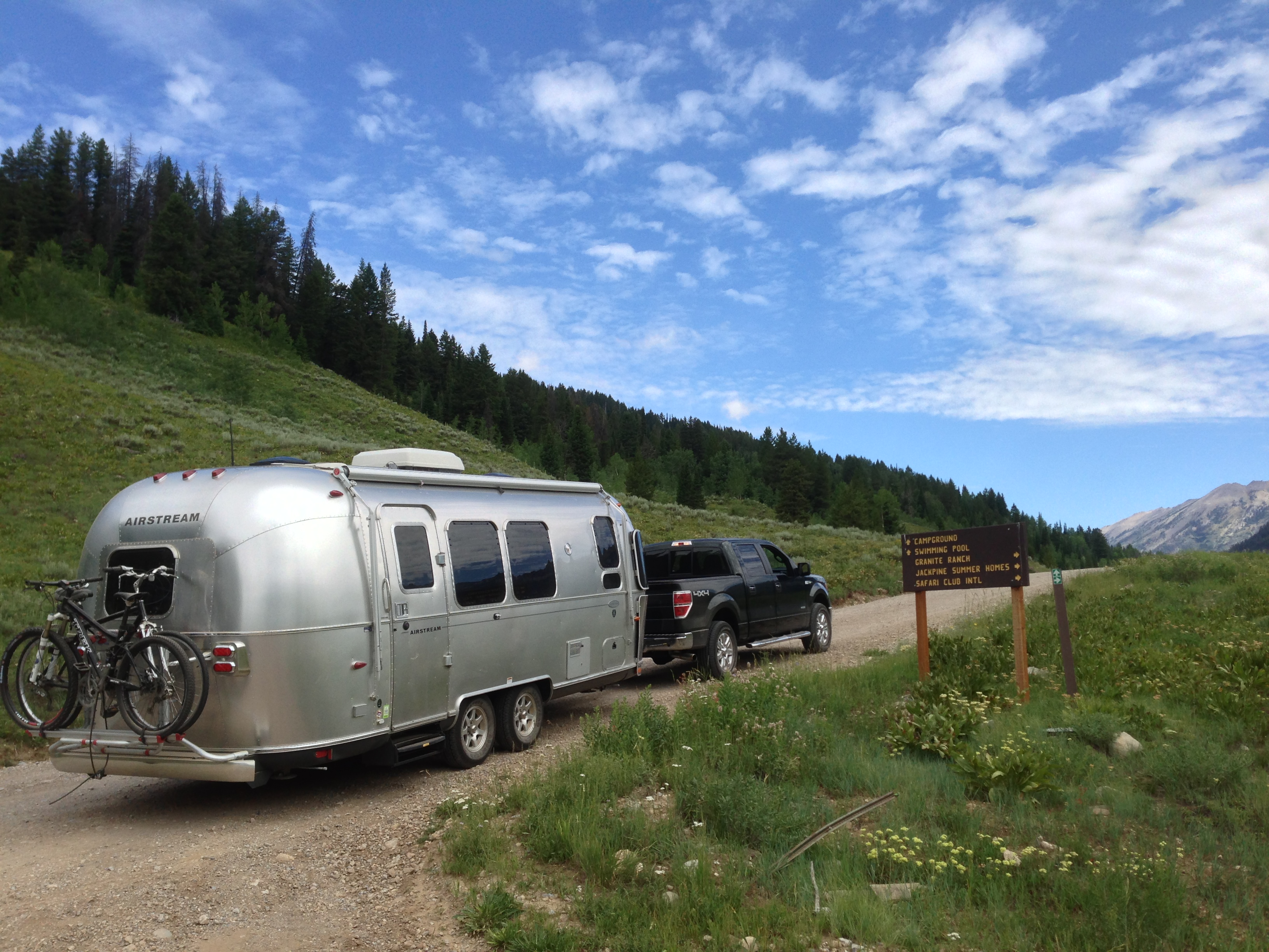 Airstream Adventure #5: Seattle to Jackson Hole, Wyoming